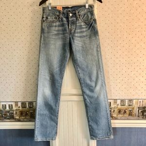Levis Vintage 501 Preshrunk Jeans Size 25/32